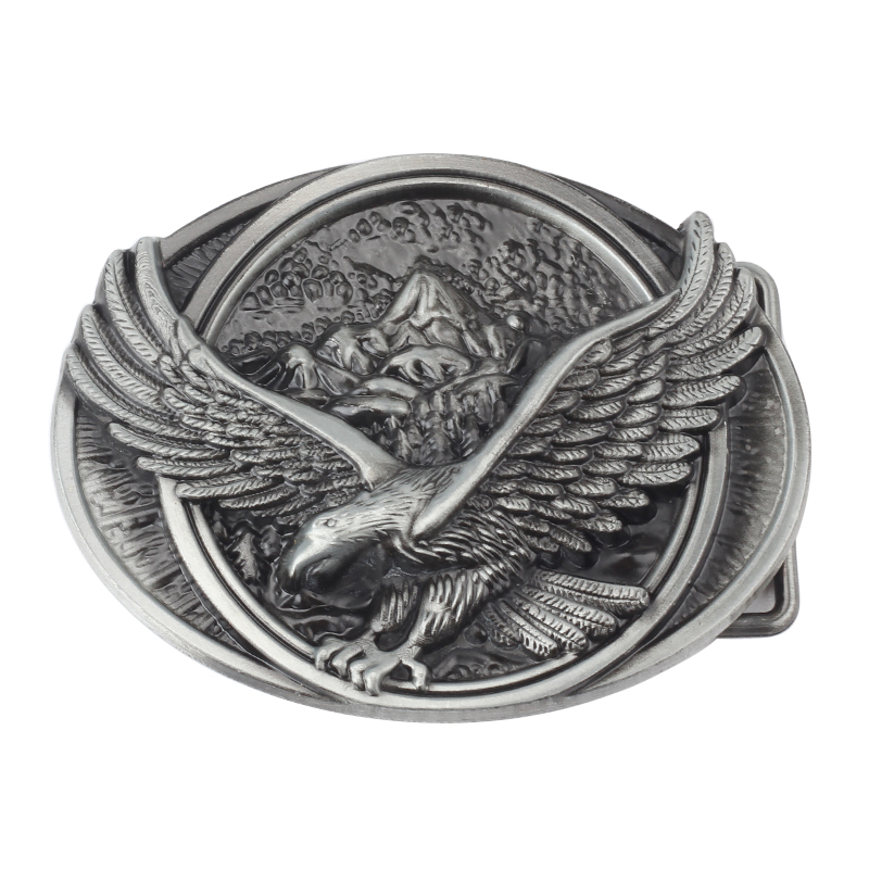 The Eagle Spread  Wings Metal Belt Buckle