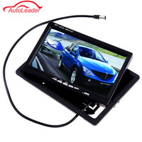 7 Inch TFT LCD Color Car Rear View Monitor VGA DVD VCR For Reverse Backup Camera