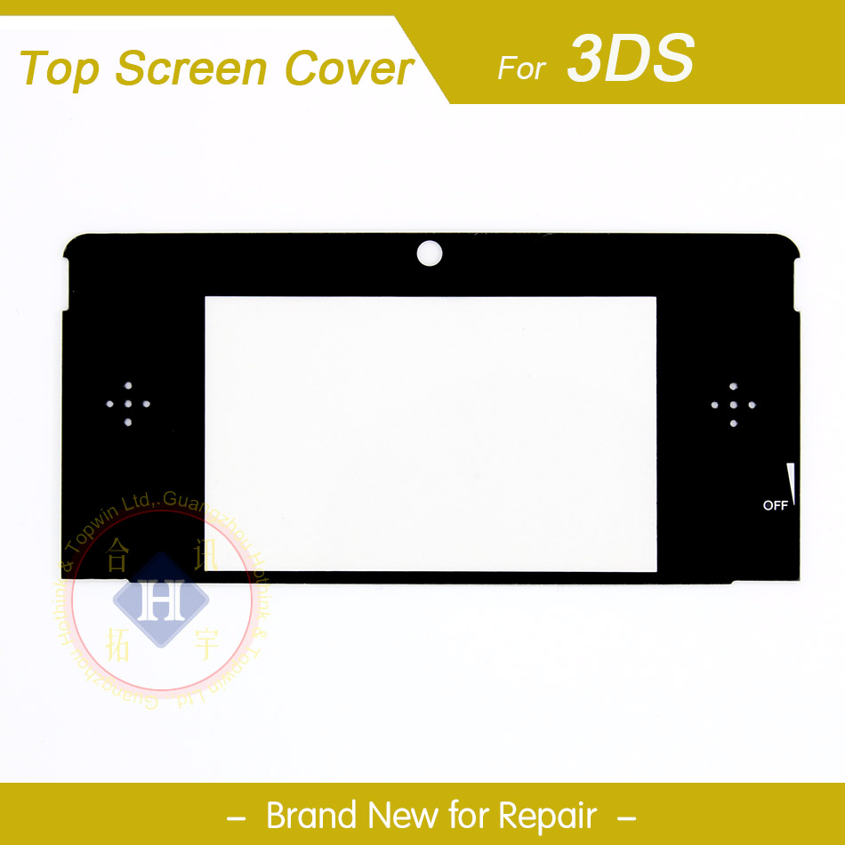 HOTHINK New Top Upper LCD Screen Plastic Cover Replacement Part for Nintendo 3DSHOTHINK New Top Upper LCD Screen Plastic Cover Replacement Part for Nintendo 3DS