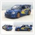 Новый Kingsmart 1/36 Масштаб Япония Subaru Impreza WRC 2007 НЕТ. 7 Литья Под Давлением Металл Вытяните Назад Модель Автомобиля Игрушка Для Коллекции/Подарок