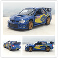 Brand New KINGSMART 1/36 Scale Japan Subaru Impreza WRC 2007 NO. 7 Diecast Metal Pull Back Car Model Toy For Collection/Gift