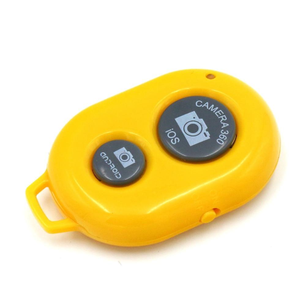 Wireless Bluetooth Camera Remote Control Self-timer Shutter yellow new