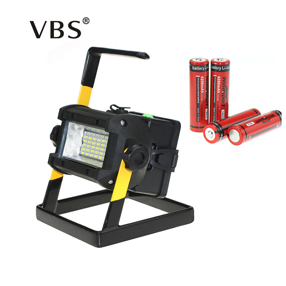 Portable Outdoor 5w Led Rechargeable Work Garage Flood: LED Work Light Rechargeable Lampe Led Outdoor Portable