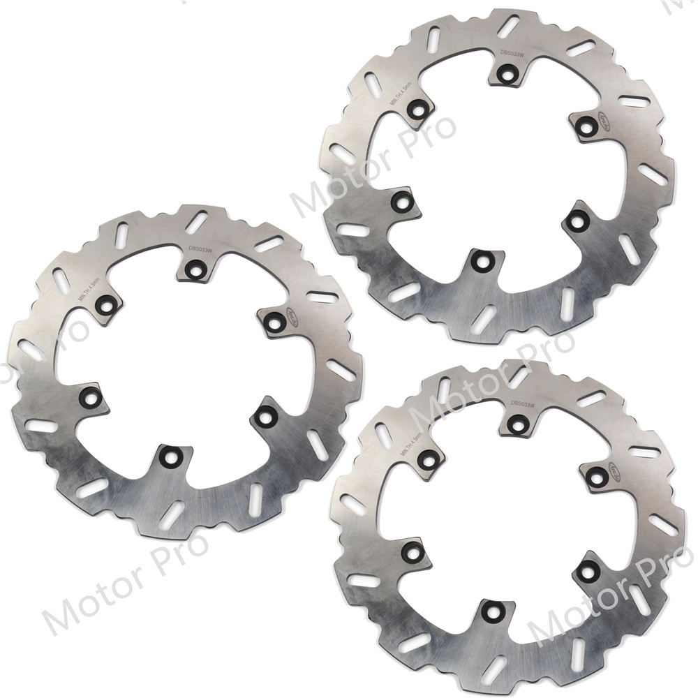 For <font><b>Yamaha</b></font> <font><b>RD</b></font> <font><b>350</b></font> LC 1985 - 1993 Front Rear Brake Disc Disk Rotor Kit Motorcycle RD350LC RD350 86 1987 1988 1989 1990 1991 1992 image