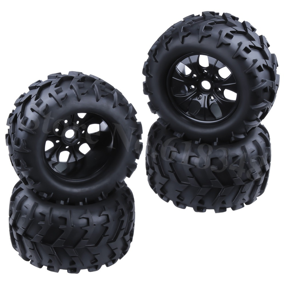 4P RC 1/8 колела гуми Диаметър: 150MM & 17MM Hex За 1-8 Monster Truck HSP HPI Traxxas