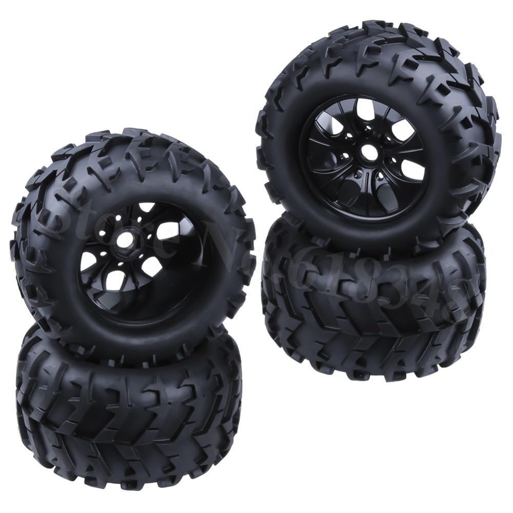 4P RC 1/8 Wheels Tires Diameter:150MM & 17MM Hex For 1-8 Monster Truck HSP HPI Traxxas