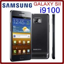 I9100 Original Unlocked Samsung Galaxy S2 I9100 GPS 16GB ROM 8MP 4.3 Inch`` Touchscreen Refurbished Smartphone Free Shipping