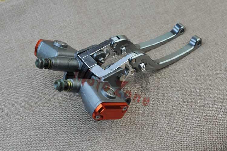 Vente en gros moto hydraulique embrayage frein pompe ensemble levier guidon 13 piston cylindre pour honda yamaha kawasaki sukuzi