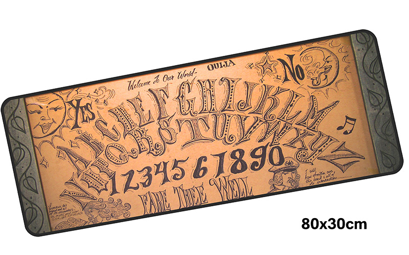 ouija board mousepad gamer 800x300X3MM gaming mouse pad large cheapest notebook pc accessories laptop padmouse ergonomic mat