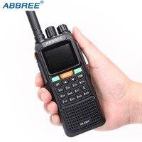 ABBREE AR 889G GPS SOS 10W 999CH Walkie Talkie Night Backlight Duplex Repeater Dual Band Dual Receiving Hunting Ham CB Radio