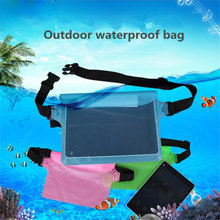 Universal Waterproof Case For iPhone X XS MAX 8 7 6 s 5 Plus Cover Pouch Bag Cases For Phone Coque Water proof waist bag Case(China)