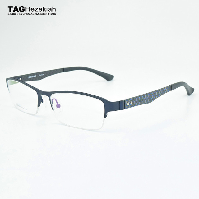 67b18afba08 2018 glasses frame TAG Hezekiah brand titanium eye glasses frame eyewear  glasses computer anti radiation goggles myopia glasses