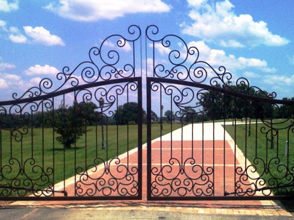 Wrought Iron Gates Prices  Metal Gate Door Estate Gates