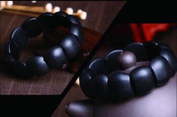 Bracelet Jade Noir Pour Femme 5
