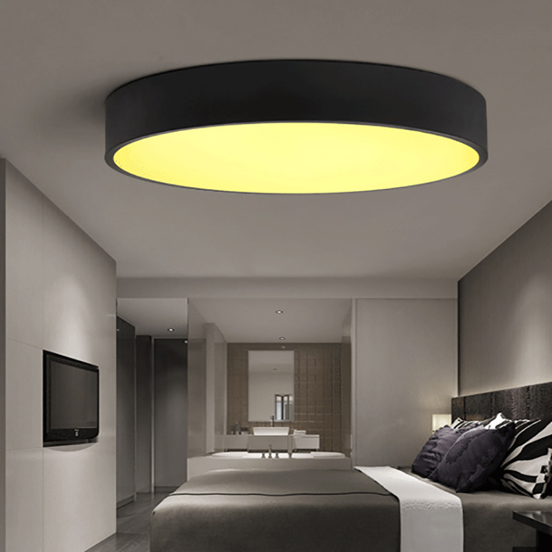 Nordic led lamps modern minimalist ultra thin wrought iron creative restaurant room lamp bedroom living room ceiling lamp|Ceiling Lights| |  - title=