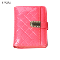 Excellent Quality Leather Womens Wallets Female Small Wallets Zipper Wallet For Women Brand Short Leather Purse