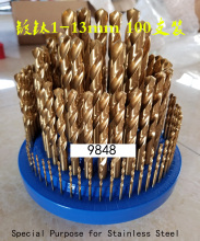 купить 100 pcs drill bit. Table drilling and milling machine. Hand-held electric drill. Machining center bit. 1-13mm suit в интернет-магазине