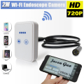 720P Endoscope WIFI Wireless Inspection Borescope Snake Tube USB Camera USB Wi-Fi Endoscope MINI Video Camera For Iphone Android