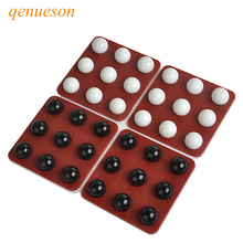 New High Quality PENTAGO Rotate Gomoku Magic Gomoku With Black And White Beads Parenting Puzzle Board Game Chess Gobang qenueson цена