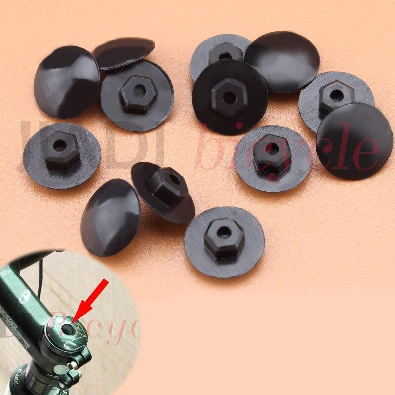 MUQZI 10Pcs Bicycle Headset Cover Screw Cap Silica Gel Elasticity Bowl Set Cover Screw Cap MTB Fixed Gear Equipment Accessories