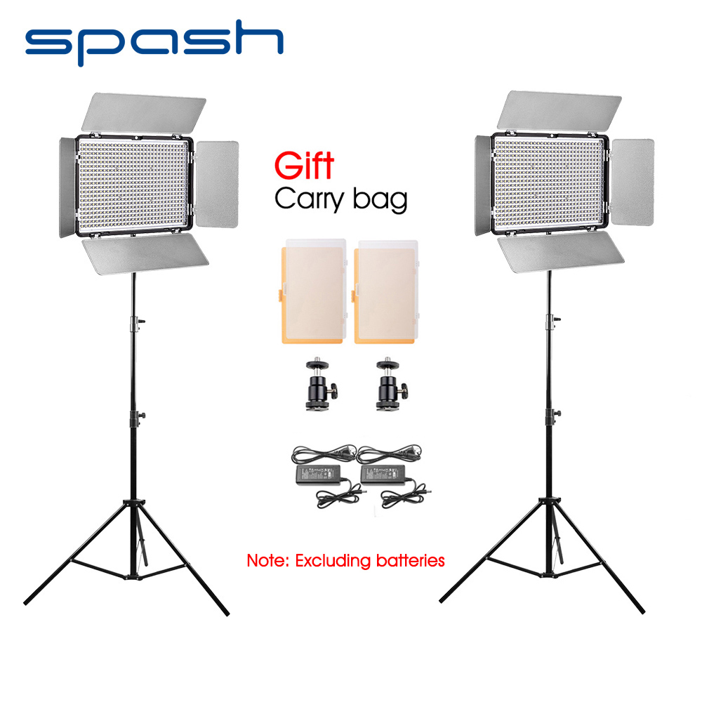 Spash Portable Led Video Light 2 In 1 Kit Photography Lighting With Diagram Tripod Camera Photo Studio Lamp Panel Tl 600s