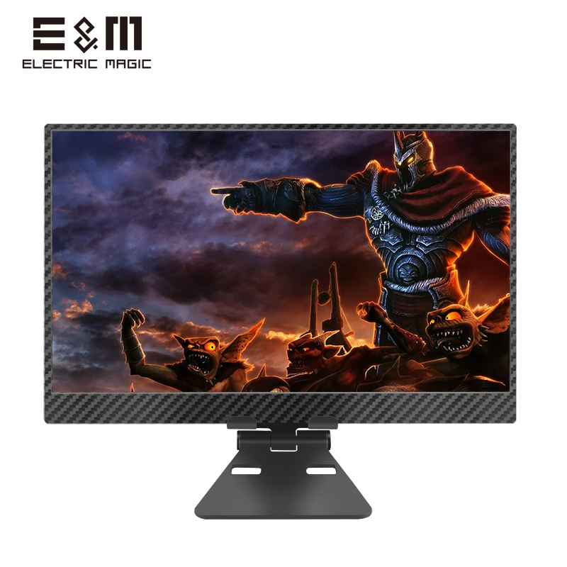 4K HDR IPS LCD Monitor Carbon Fibre Case For Raspberry Pi 4 Xbox Portable Games Screen Type C PS4 PC Display 3840x2160