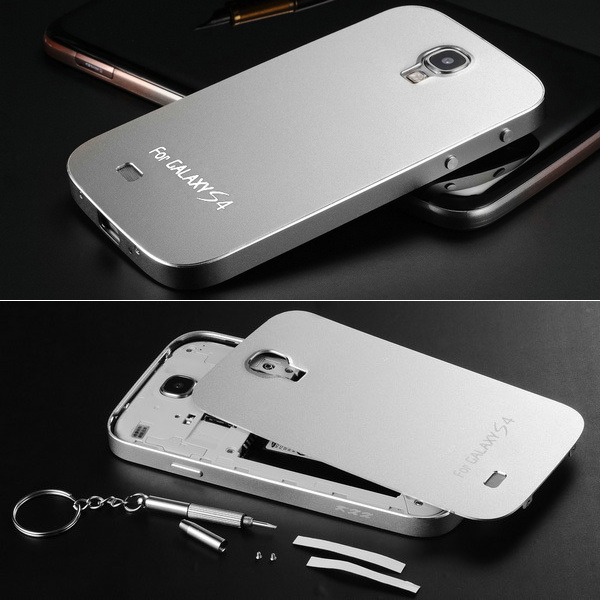 cheap for discount fec3a 1bf4d US $19.99 |New Arrival Metal Aluminum Case For Samsung Galaxy S4 i9500  Luxury Matting Surface Bumper Ultrathin Phone Bag Cover Drop Ship on ...