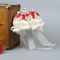 Gorgeous Crystal Wedding Bouquet Brooch Bouquet Wedding Accessories Bridesmaid Artifical Wedding Flowers Bridal Bouquets WP019