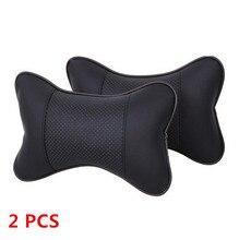 Car seat head cushion car seat headrest winter car headrest leather auto supplies neck headrest Warm