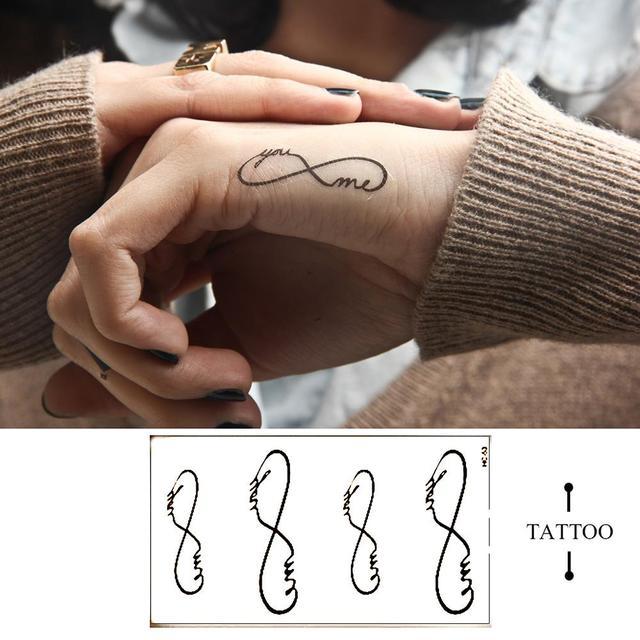 HC53-New Дизайн Моды Временные Татуировки Наклейки Временная Body Art Водонепроницаемый Татуировки Рисунок
