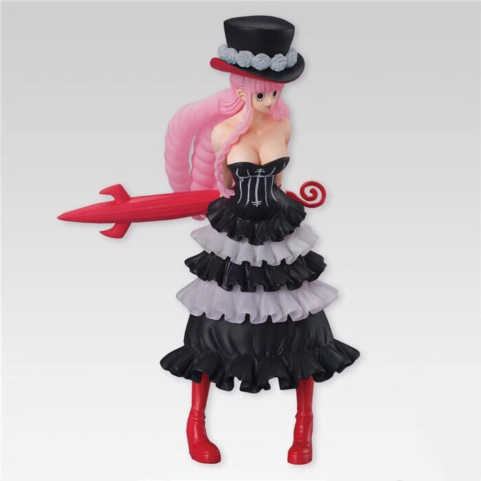14cm One piece Perona Action Figure Anime Doll PVC New Collection figures toys brinquedos Collection