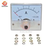 85C1 DC Analog Current Meter Panel 5A 10A Amperemeter AMP Gauge Tester 0 ~ 5A 0 ~ 10A GB/ t7676-98 mini Analog Skala amperemeter Präzision