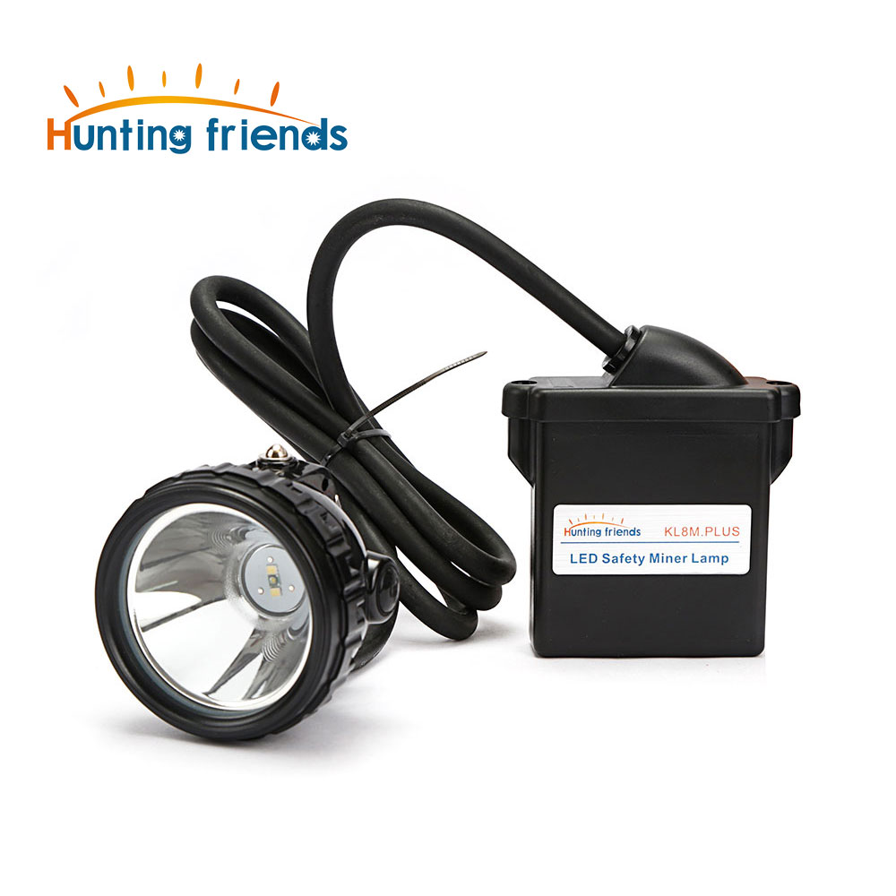 KL8M.Plus LED Miner Lamp Waterproof Head Flashlight Torch Explosion Proof Cap Headlight Rechargeable Headlamp Mining Headlamp nitecore eh1 260lumens led explosion proof headlamp