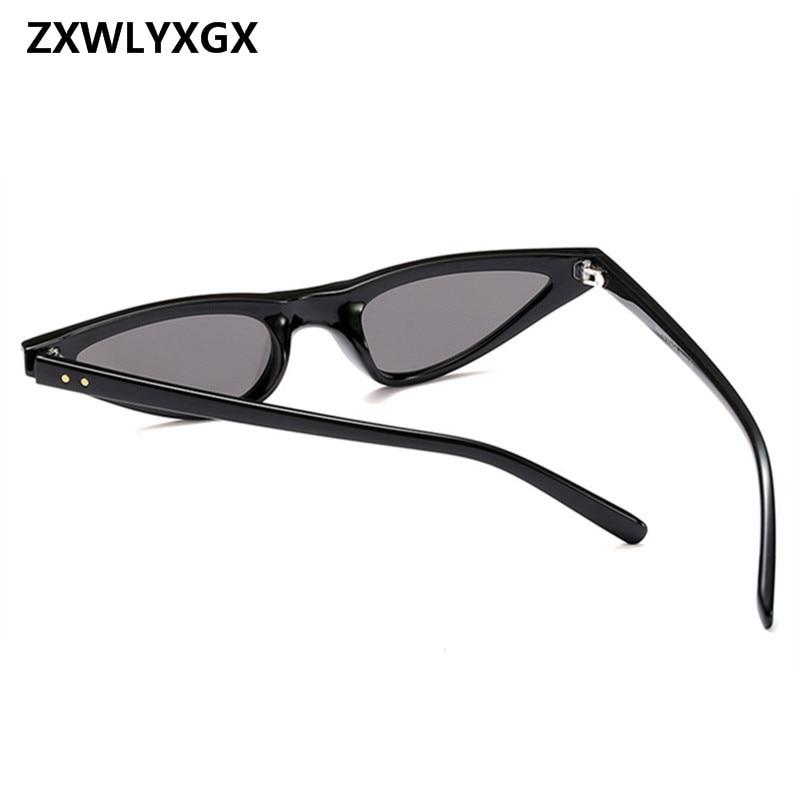 ZXWLYXGX 2018 Regalos Nuevos Cat Eye Sunglasses Mujeres Marca Small - Accesorios para la ropa - foto 4