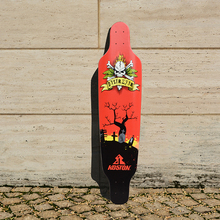 KOSTON pro longboard deck with 8ply canadian maple hot air pressed, quality long skateboard decks for cruising purpose