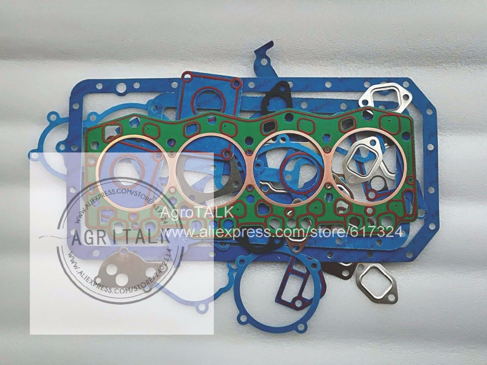 Changchai 4L88 parts, set of gaskets including the head gasket changchai zn485t for tractor use the set of gaskets including the head gasket as showed
