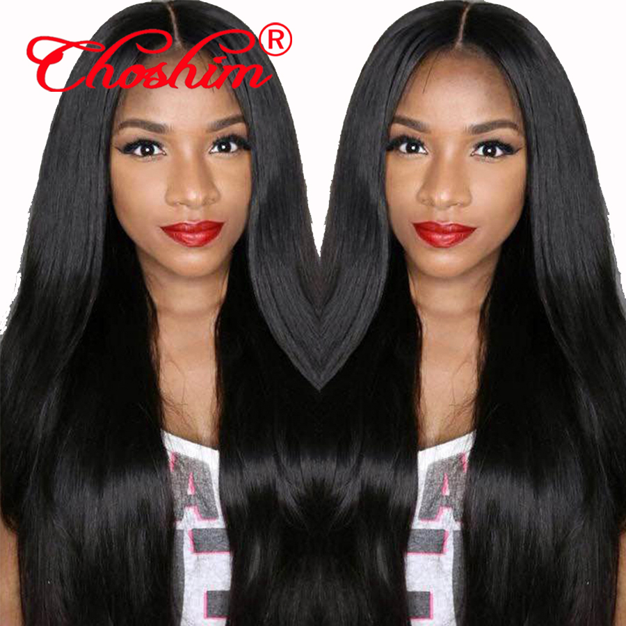 High Density Remy Human Hair Lace Front Wigs for Women 130 150 180 250 Black Brown