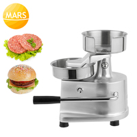 100mm 130mm Manual Hamburger Press Burger Machine Meat Pie Forming Machine Beef Grill Burger Makers in Bakery Equipment