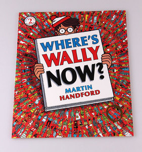 Image 4 - 6 pcs big size A4 English books Where Wheres Wally : Children Observation Vision Will Find Jigsaw gift for kids Childhood