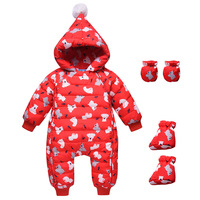 Newborn Baby Winter Coats Outwear Fashion Hooded Parkas Orangemom Fashion Clothing Hoodies Infant Snow White Climbing Rompers