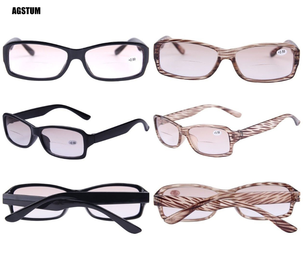 75b89ff4970e Detail Feedback Questions about Agstum Sun reader Bifocal Reading Glasses  Light Tint Sunglasses +1 +2 +2.5 +3 +3.5 +4 on Aliexpress.com