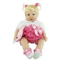 NPK 55 см/22 дюйма детские куклы реборн Милые силиконовые шарнирная кукла малыша реалистичные игрушки подарки на день рождения M09