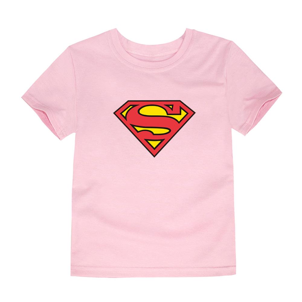 HTB1KzKjQVXXXXbBXFXXq6xXFXXXg - TINOLULING 2018 Kids Superman T-Shirt Boys Girls Batman T Shirt Children Tops Baby Tees For 2-14 Years