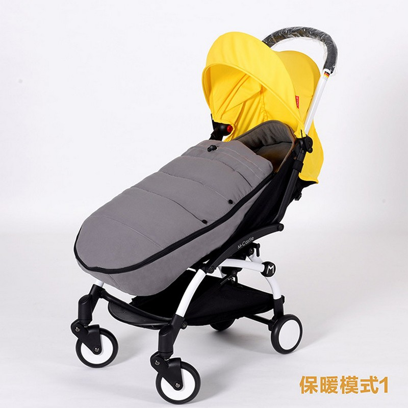 Baby Sleeping Bag For stroller Winter Thick Warm Sleep Sacks in the carriage wheelchairs Sleep Bag For Kids Stroller Accessory