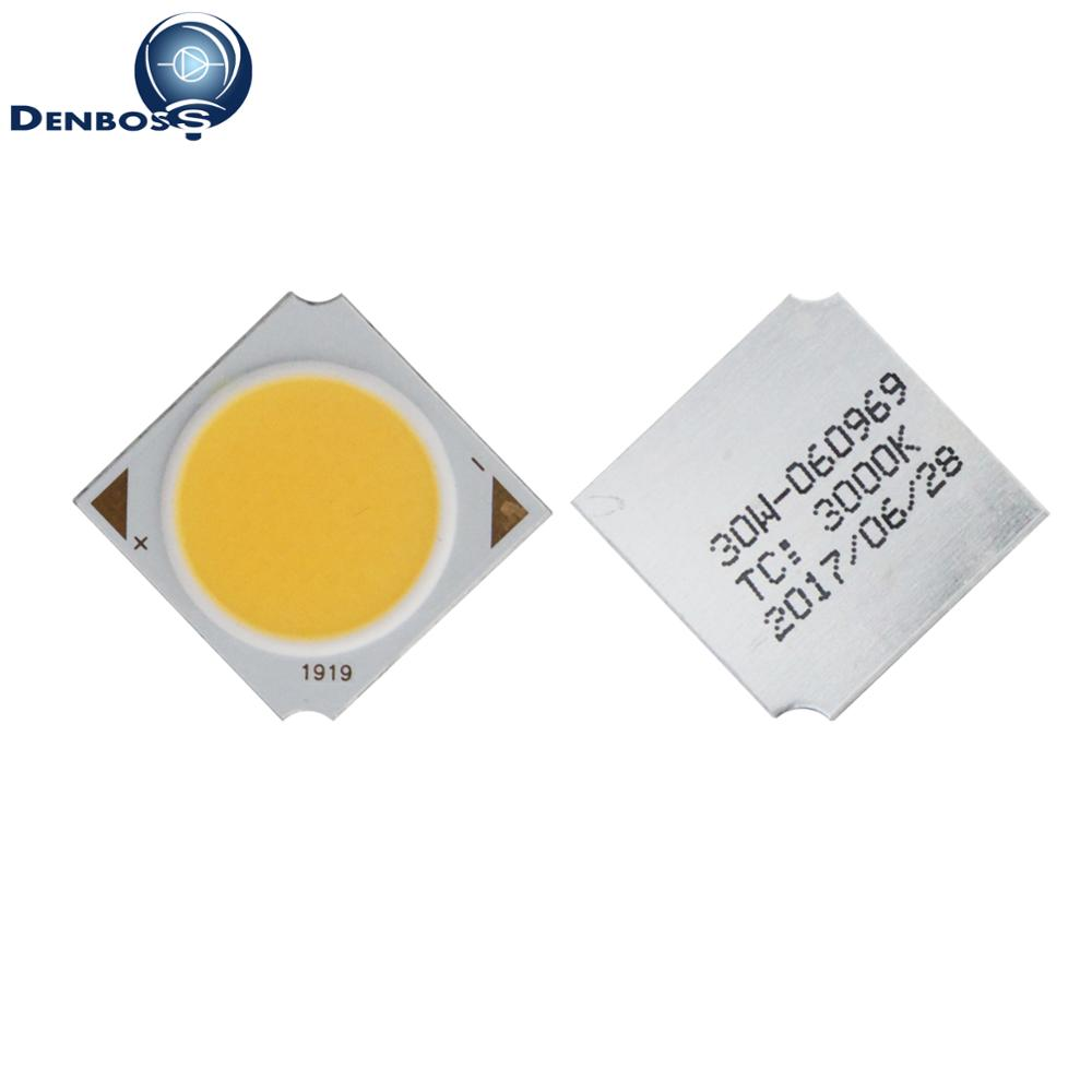 10PCS 19mm 17mm Square Aluminum Board LED COB Strip Light Source Module 10W 15W 20W 30W 120LM/W COB Bulb Lamp Epistar Chip