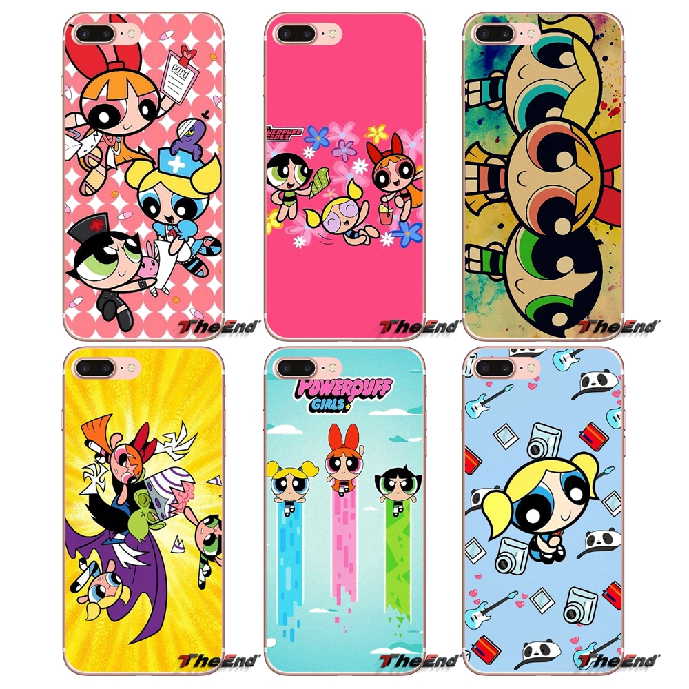 Phone Bags & Cases Babaite Super Cute The Powerpuff Girls Novelty Fundas Tpu Phone Case Cover For Iphone 8 7 6 6s Plus X Xs Xr Xsmax 5 5s Se 5c With Traditional Methods Half-wrapped Case