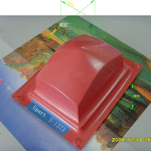 rectangle single color pad printing pads