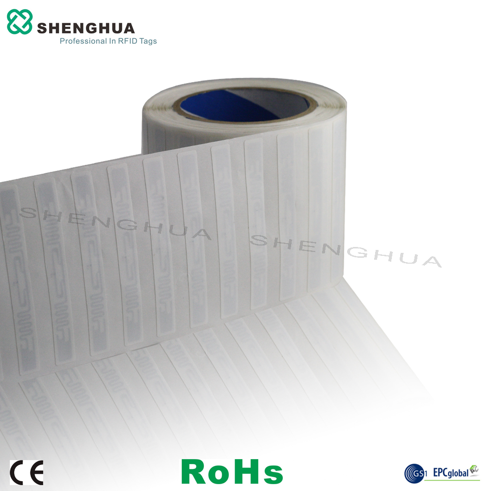 10pcs Free Shipment Hot Sale 860~960MHz RFID Tag Uhf Barcode Label High Quality Paper Roll Sticker For Item Management  EPC1 G2