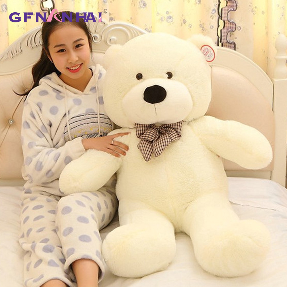 1pc 80/100/120cm Classic Selling Toy Big Size Teddy Bear Skin ,Teddy Bear Coat ,Good Quality Factary Price Soft Toys For Girls