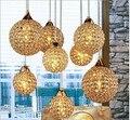 8 головок  современные золотые K9 Кристальные подвесные светильники с 8 светодиодными лампами E14